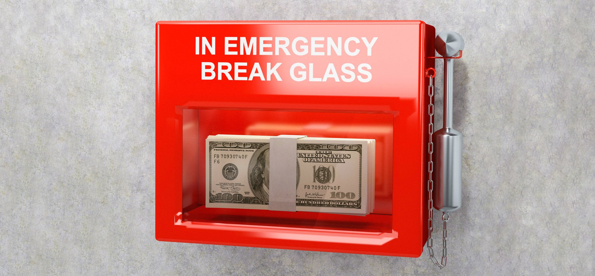 Emergency fund during a crisis